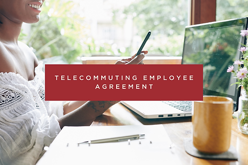 Telecommuting Employee Agreement