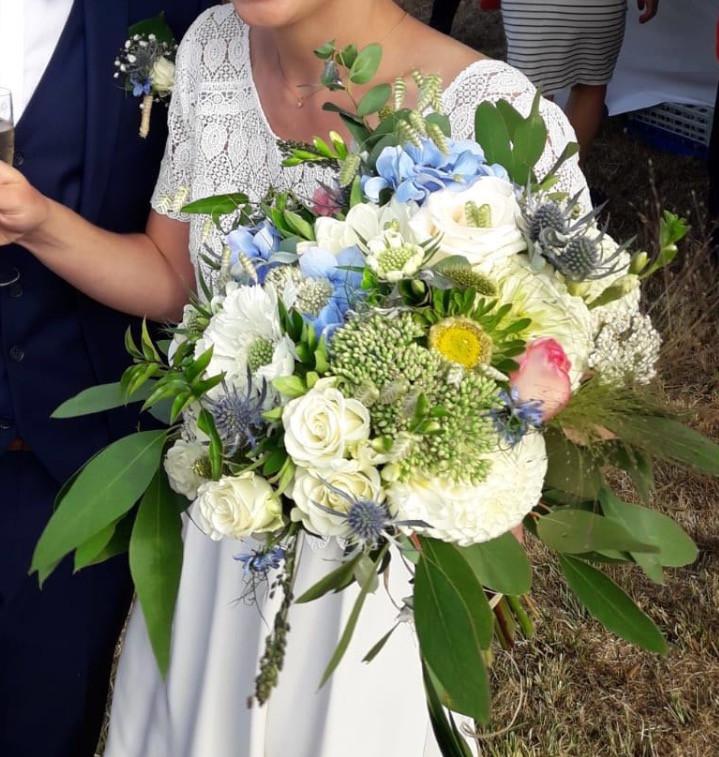 Bouquet de mariée sept.