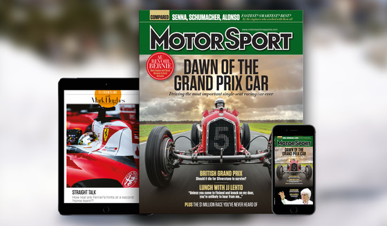 COMPETITION - Win 12 Month Motorsport Magazine Subscription