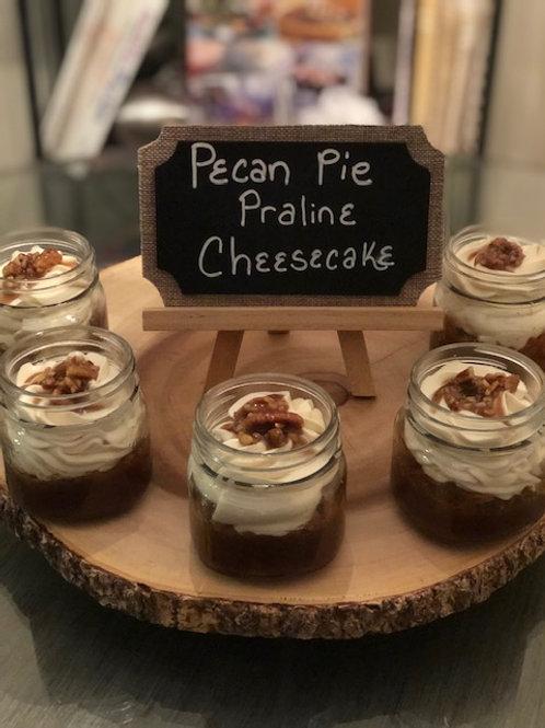 Pecan Praline Pie Cheesecake