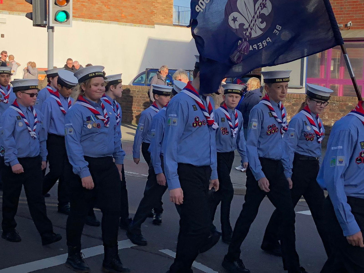 Scouts March with Flag.jpg