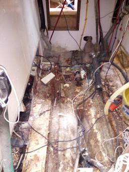 Engine room being gutted.JPG