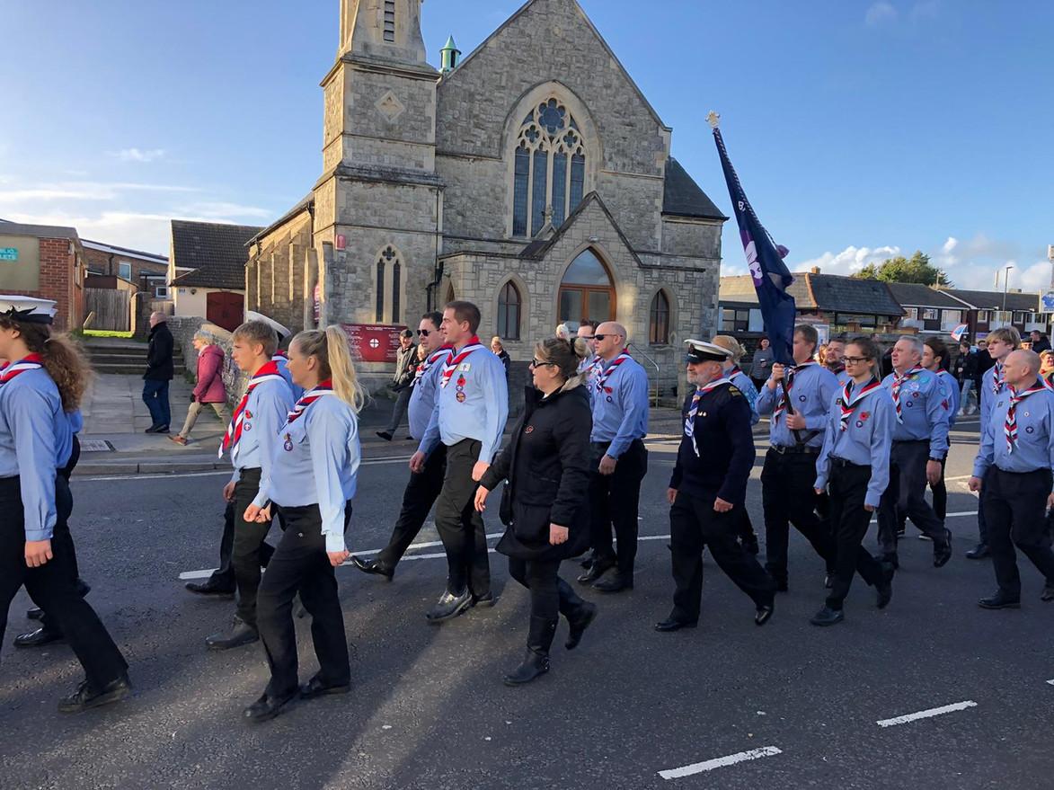 Scoust march past church 3.jpg