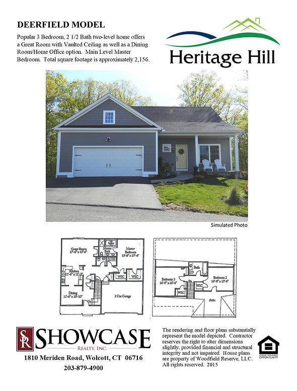 Heritage Hill Deerfield Model  Flyer (1)