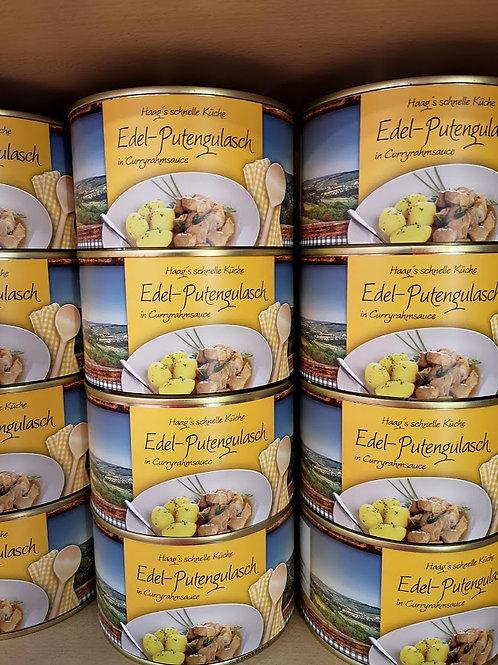Edel-Putengulasch (in Curryrahmsauce) 400g