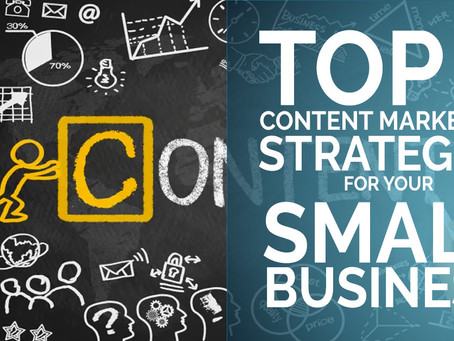 Top 5 Content Marketing Strategies for Your Small Business