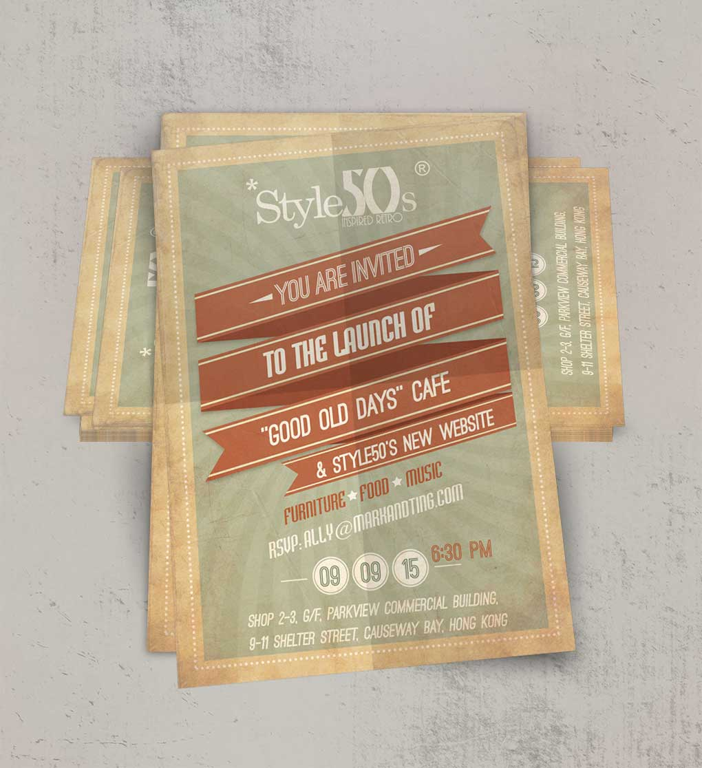 Style50s - Flyer Design