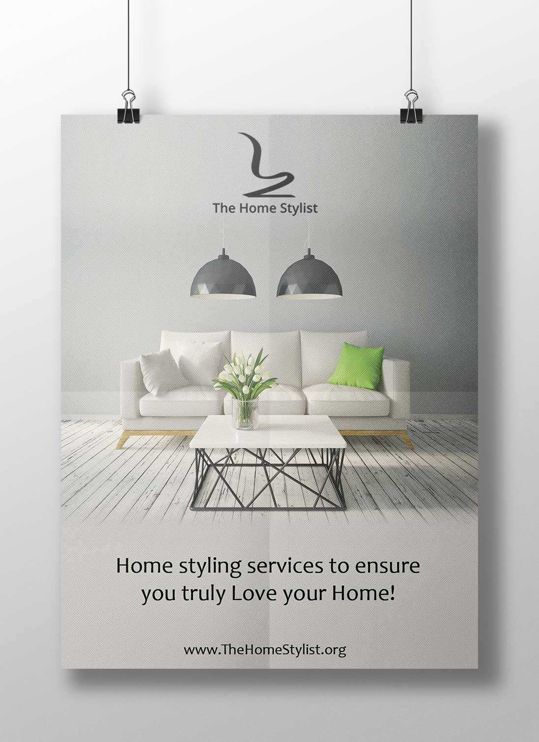 The Home Styling - Poster Design
