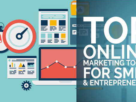 Top Online Marketing Tools for SMEs and Entrepreneurs