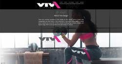 viva - logo and branding