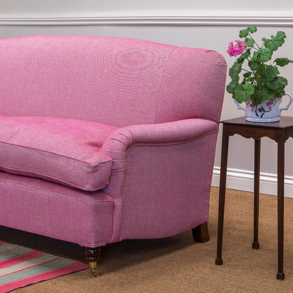 Stour sofas with serpentine back