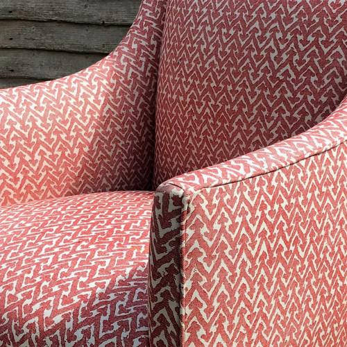 Parrett chair arm detail