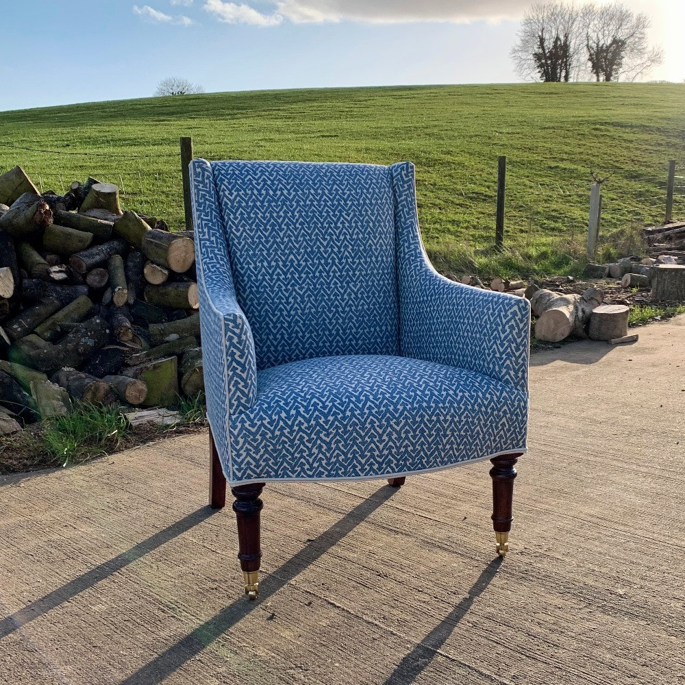 Parrett chair with turned legs