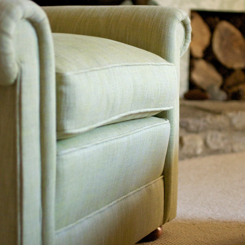 Frome armchair front detail
