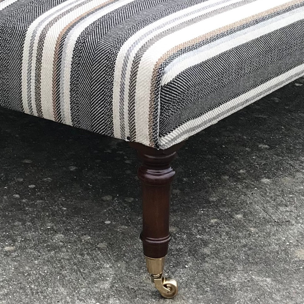 Simple nailing detail and turned legs with casters