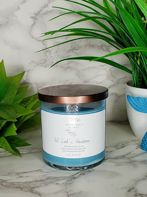 Tall Dark and Handsome Soy Candle