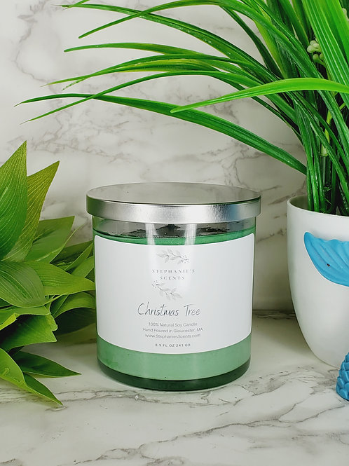Christmas Tree Scented Soy Candle