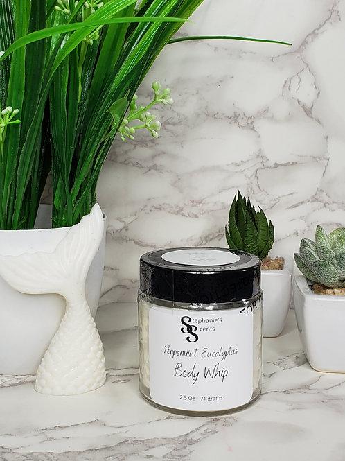 Peppermint and Eucalyptus Body Whip
