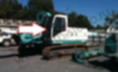 Стекло лобовое буровая установка Casagrande B125 касагранде