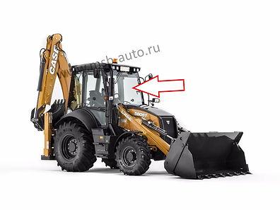 Стекло лобовое экскаватор-погрузчик CASE 580 ST