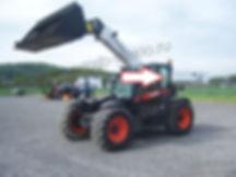 Стекло кузовное заднее левое  Телескопический погрузчик Bobcat TL360, Bobcat TL470