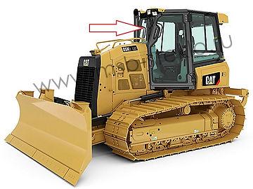 Cтекло лобовое бульдозер Catepillar D5K XL, Catepillar D6K