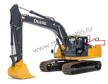Стекло кузовное левое экскаватор John Deere 210 GLC-360 GLC