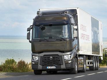 Стекло Renault T-Series (без полосы), RENT0107, стекло грузовик Renault, Стекло на грузовой автомобиль Рено