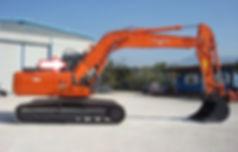 Экскаватор колёсный,гусеничный Hitachi ZAXIS ZX 130,140,160, 180,225,W 1 cерия 2003- стекло кузовное правое возле стрелы ( маленькое ) (закаленное)