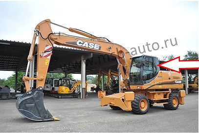 Стекло кузовное левое заднее колесный экскаватор Case WX130, WX210,WX350,WX470, WX370,CASE WX700, 2-3- серия .