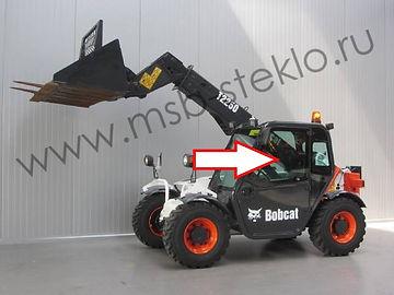 Стекло дверное левое Телескопический погрузчик Bobcat T2250