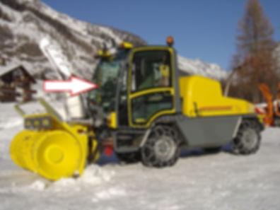 Стекло лобовое для снегометателя BOSCHUNG B4