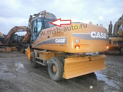 Стекло заднее экскаватор CASE WX 130,CASE WX 210,CASE WX 350, CASE WX 370, CASE WX 470, CASE WX 700