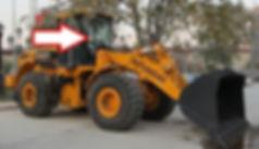 Стекло лобовое правое фронтальный погрузчик HYUNDAI SL760, SL763, SL765