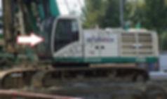 Стекло лобовое буровая установка Casagrande B300 касагранде