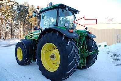 Стекло заднее трактор JOHNDEERE6068 RW,8430 RW,7830 RW,7930 RW