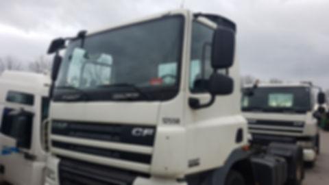 Стекло грузовик DAF CF 65, 75,85, DAFT0004, DAFT0003,  установка стекла DAF, стекло ДАФ