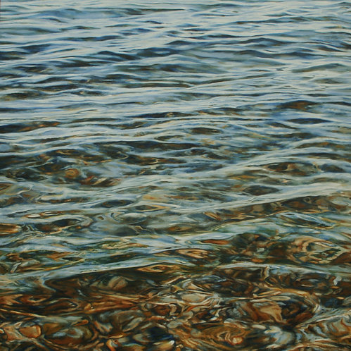 TRANQUILLITY  (on canvas)