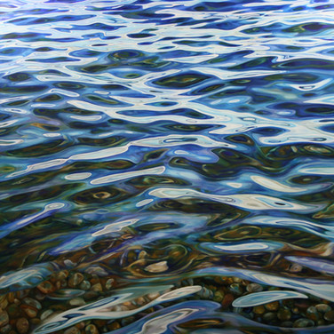 CONTEMPORARY PAINTINGS OF WATER