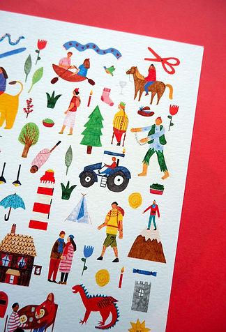 Illustration Print