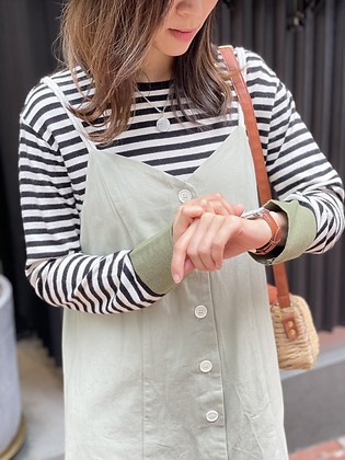 #2436 bk/wh striped knitted top