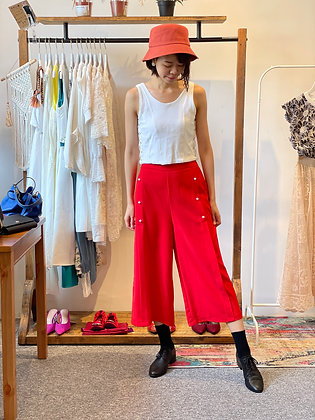 #24936 red pearl pants