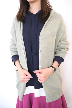 #40986 mint knit jacket