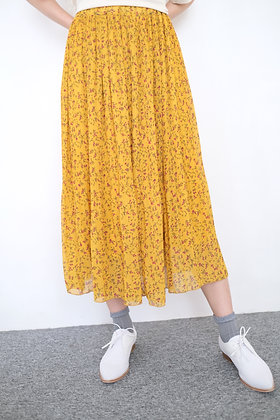 #24067 niko and yellow floral dress