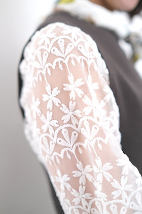 white lace top #23314
