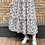 Thumbnail: #24708 chocol affine wh floral skirt