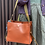 Thumbnail: #24220 trash candy bn/gn leather bag