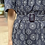 Thumbnail: #24785 navy floral embroidered op