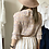 Thumbnail: #25241 beige floral pleated top