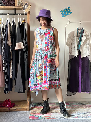 #24958 colorful pattern op